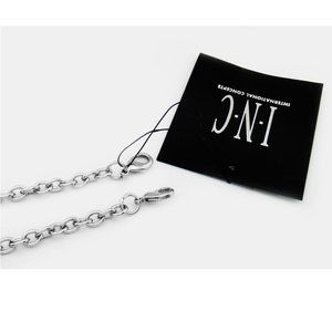 INC CONCEPTS SILVER CHAIN STRAP FOR CLUTCHES:$18.0